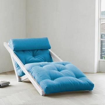 Sesselbett Figo Weiß Azur, 259€, jetzt auf Fab.