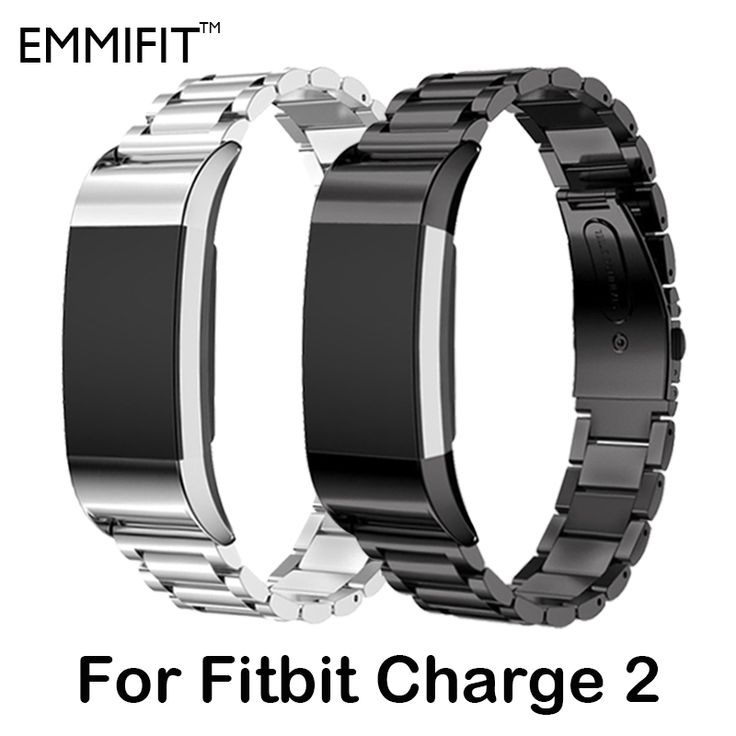Metal Strap For fitbit charge 2 band strap Screwless Stainless Steel Bracelet For Fitbit charge2 Wristbands Replace Accessories //Price: $14.99 & FREE Shipping //     #backpack #tablet #earphone #headphone #headphones #bag