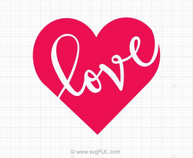 Download Love Heart Svg Saying | Heart clip art, Heart stencil ...