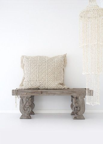 Kalyana Macrame Cushion $289.00 (https://norsu.com.au/collections/boho-luxe-living-room/products/kalyana-macrame-cushion)