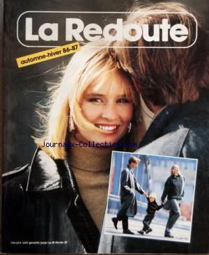 CATALOGUE DE LA REDOUTE A ROUBAIX no: 01/10/1986