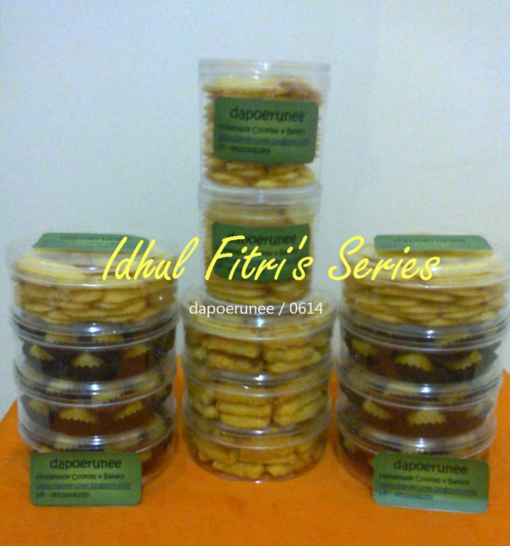We offer you the Idhul Fitri's Series..Parcel kue kering dari dapoerunee