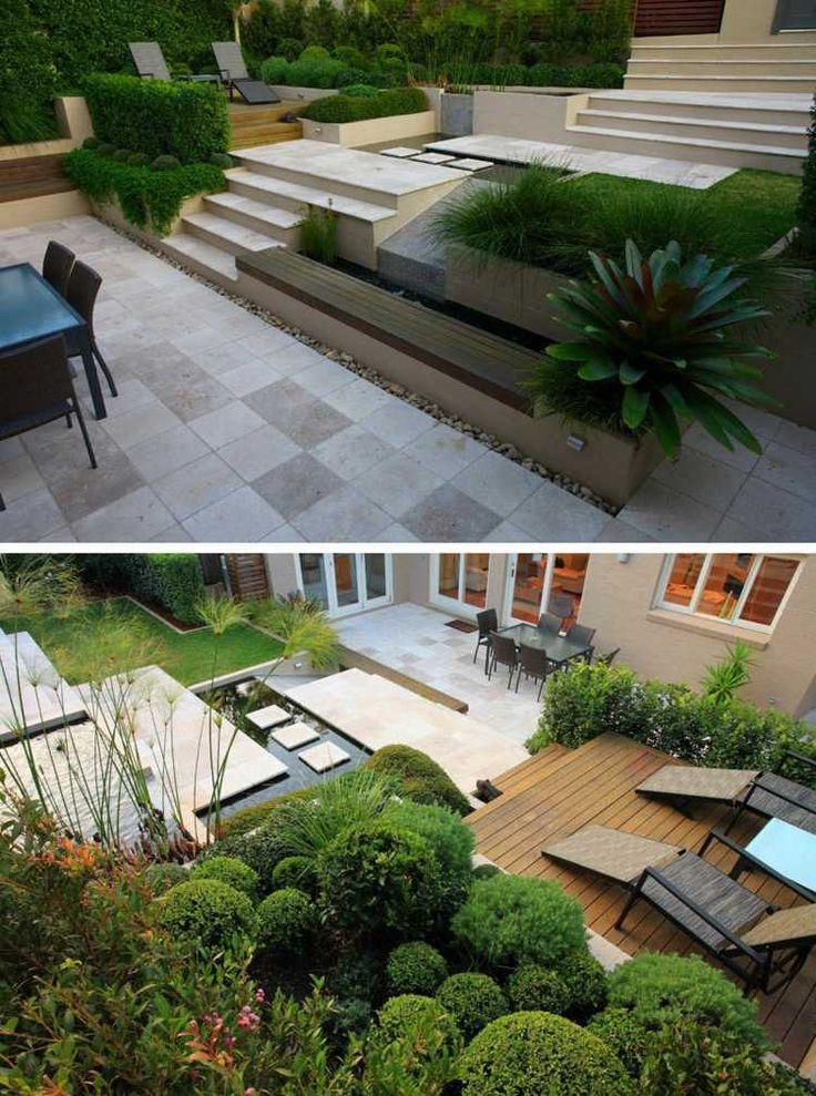 terrasse am hang praktisch und modern gestalten - 10 tolle ideen, Hause und Garten