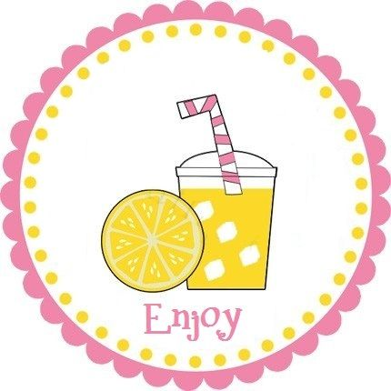 Lemonade Stand Signs Printable | Click Lemonade Cup Tag for FREE printable (the lemon slice printable ...