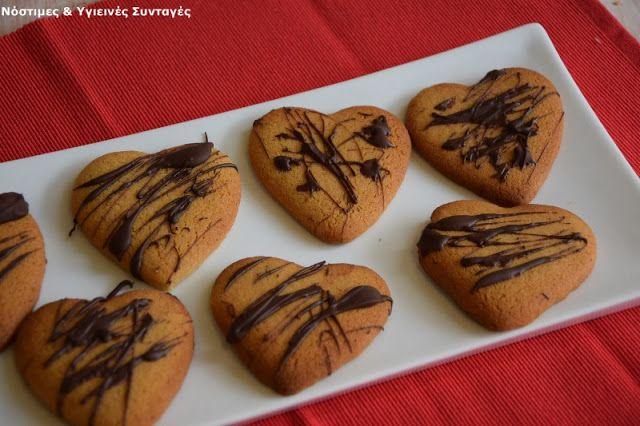 Νόστιμες κ Υγιεινές Συνταγές: Μπισκότα βουτύρου χωρίς βούτυρο και ζάχαρη