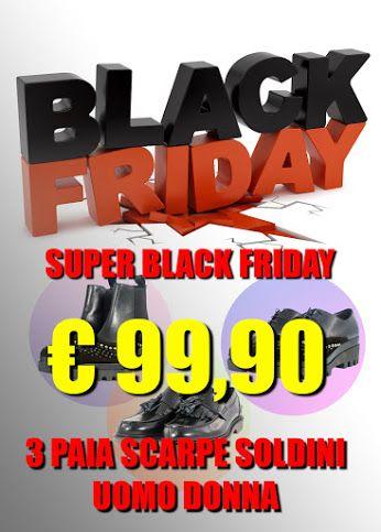 #BlackFriday #Saldi #Soldini #Uomo #Donna #Verapelle #Madeinitaly  3 paia di scarpe Soldini a soli € 99,90