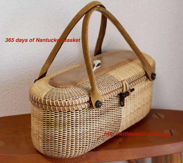 Nantucket Basket Cracker tray as Tote