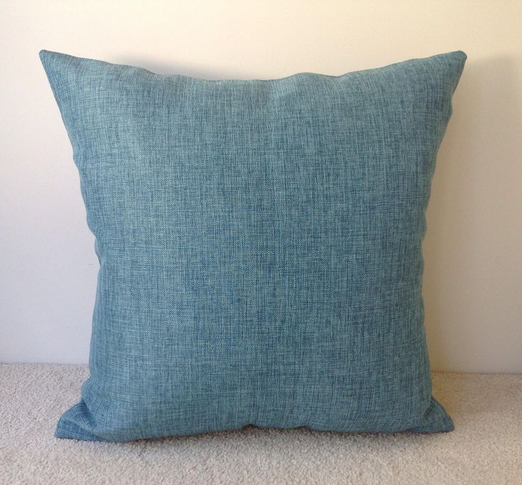 A personal favourite from my Etsy shop https://www.etsy.com/au/listing/574592341/turquoise-outdoor-cushion-cover