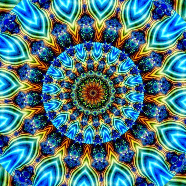 la force d'un arbre dans l'esprit ! a força de uma árvore na mente! the strength of a tree in the mind! la fuerza de un árbol en la mente! Mandala de Pierre Vermersch Digital Drawings