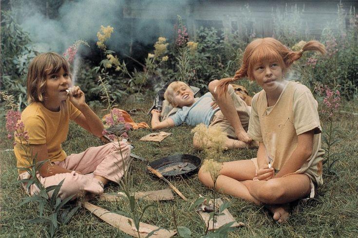 Pippi Longstocking smocking