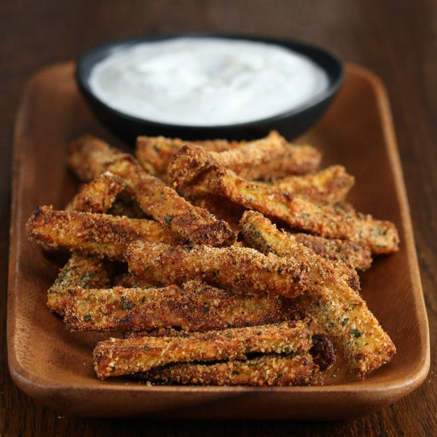 Zucchini Parmesan Fries | These Zucchini Fries Will Change The Way You Think About Fries Forever