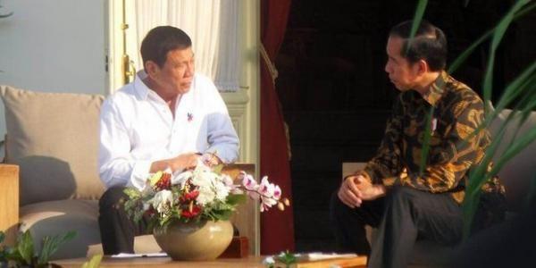 Jokowi dan Duterte Akan Buka Jalur Pelayaran Davao-Bitung