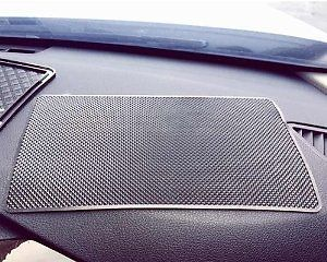 Extra Large 26 X 15cm Magic Anti-Slip Non-Slip Mat Car Dashboard Sticky Pad Adhesive Mat for Cell Phone CD Electronic Devices IPhone IPod MP3 MP4 GPS - Black: Cell Phones & Accessories