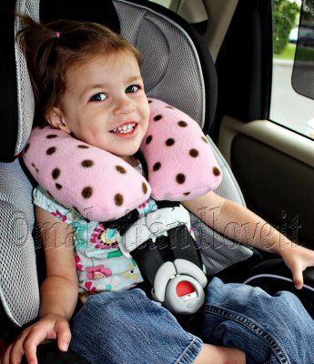 neck pillow perfect for the little traveler i make this for our summer road trip kids travel pillowskids pillowscar