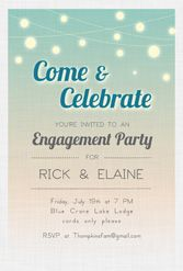 engagement party printables - free!