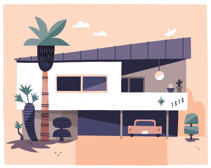 California Dreaming: Illustrator captures cool Southern California style   Creative Boom