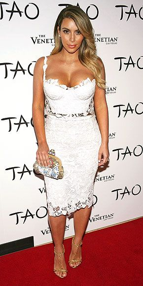 25  best ideas about Kim kardashian white dress on Pinterest | Kim ...