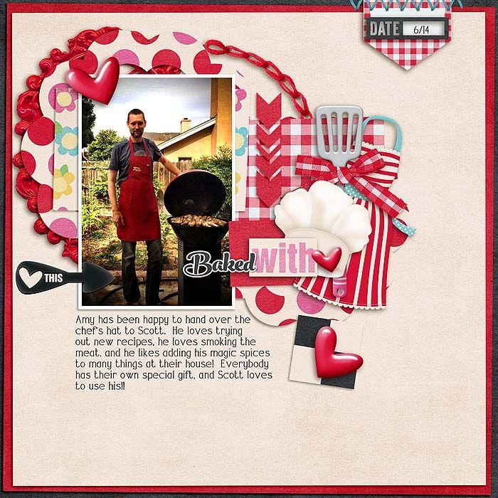 16 best {Kitchen Goddess} Digital Scrapbook Kit by Digilicious ...