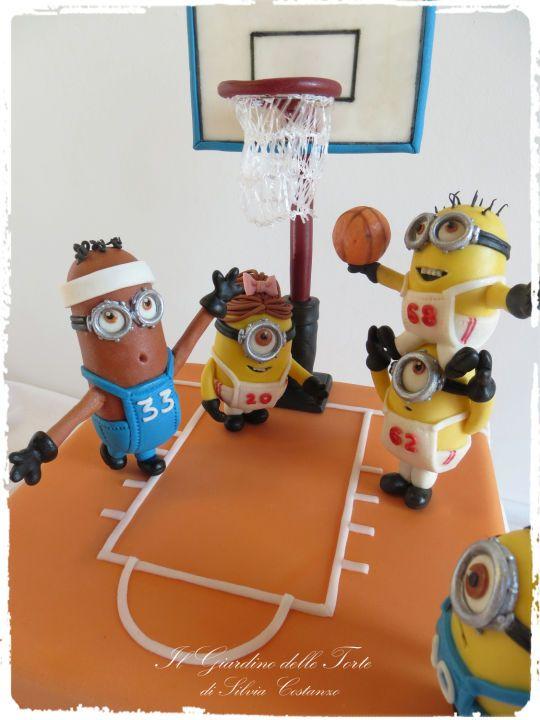minions basketball