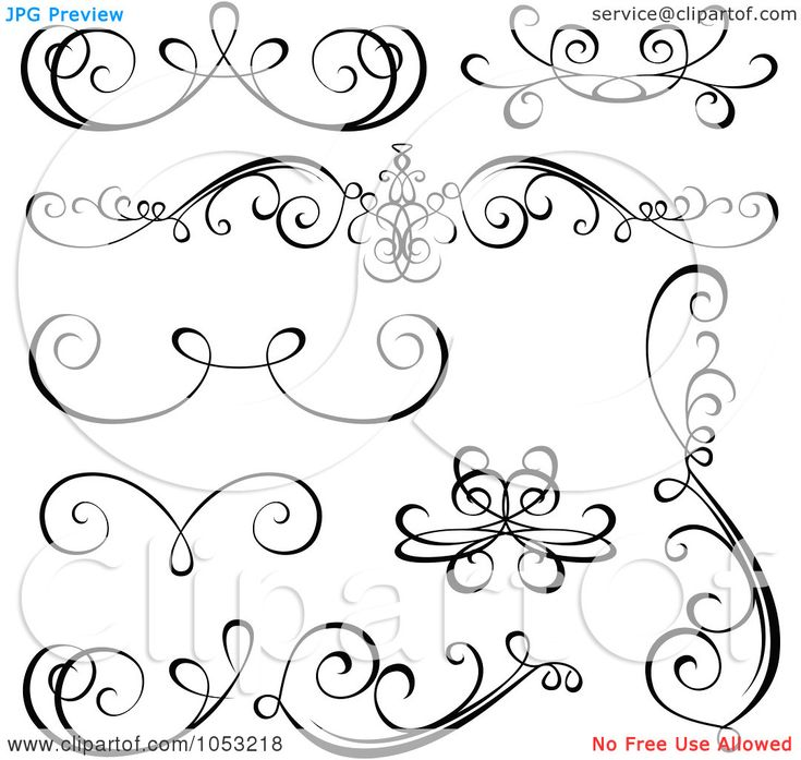 Best images about calligraphic design elements on
