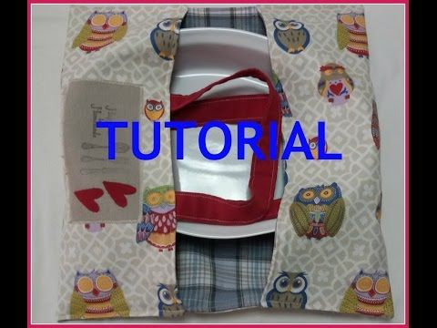 PORTA TORTA TUTORIAL ( cucito creativo ) - YouTube