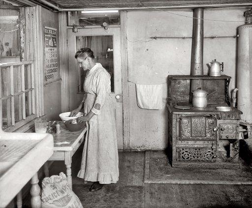 Kitchens- 1880's- 1950's