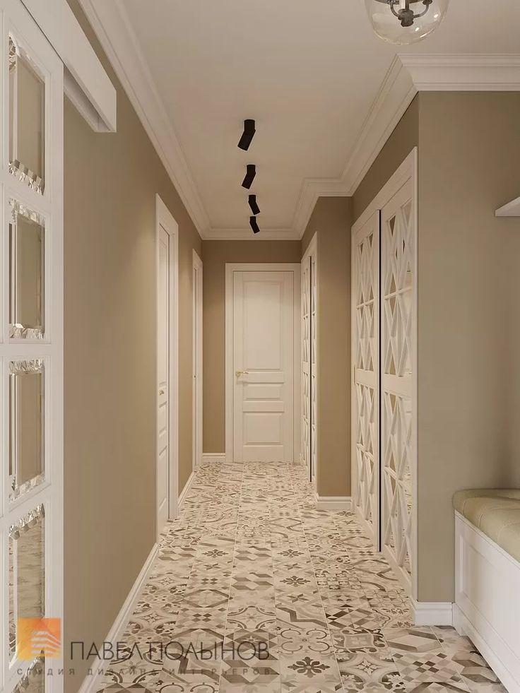 Фото дизайн интерьера холла из проекта «Дизайн проект трехкомнатной квартиры 88 кв.м., ЖК «Северная Долина», американская классика с элементами LOFT»