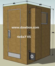 D.I.Y. Recording Booth Plans, Vocal Booth Plans, Recording Booths, Isolaion Booths