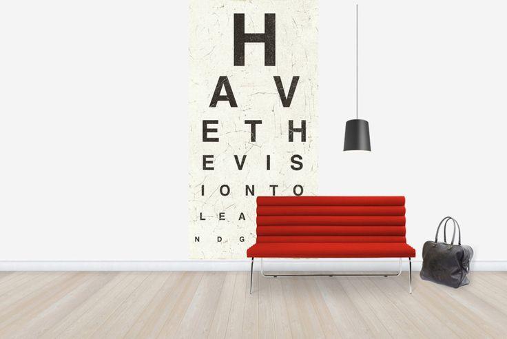 Eye Chart II - Fototapeten & Tapeten - Photowall