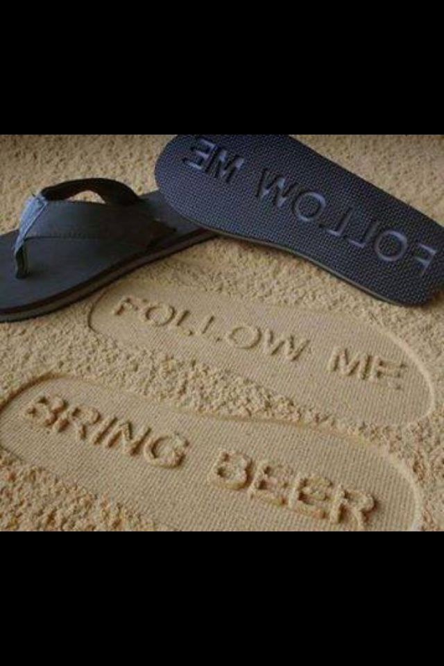 Hilarious flip flops for the beach. Great for Gifts! Put them in a pale filled with beach stuff (towels, sunglasses, beach glasses, etc)