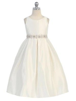 flower girl dress - picture it with a navy blue sash!