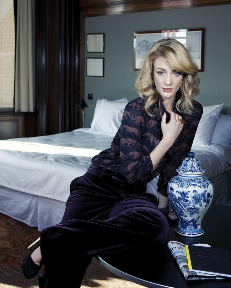Noortje Herlaar (styling by Dineke van den Heuvel) #dutch #actress