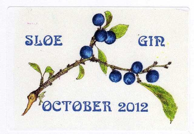 Sloe gin labels download – Glass Dishes for Meat & Dairy