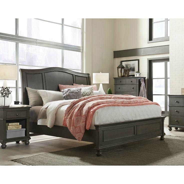 Austin Sleigh Storage Bed Peppercorn, American Furniture And Mattress Albuquerque
