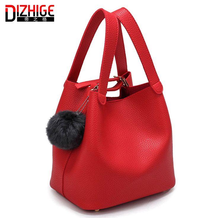 $25.69 (Buy here: https://alitems.com/g/1e8d114494ebda23ff8b16525dc3e8/?i=5&ulp=https%3A%2F%2Fwww.aliexpress.com%2Fitem%2FWinter-New-Women-Top-Handle-Bags-Fashion-Women-s-Black-Leather-Messenger-Bag-With-Fur%2F32739204454.html ) Winter New Women Top-Handle Bags Fashion Women's Black Leather Messenger Bag With Fur Ball Tassel High Quality Small Bucket Bag for just $25.69