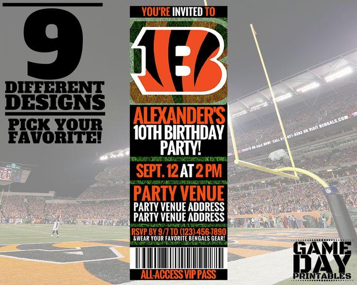 Decorating Ideas > 17 Best Ideas About Bengals Tickets On Pinterest  ~ 215317_Birthday Party Ideas Cincinnati