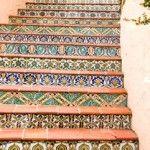 Spaanse stijl trap