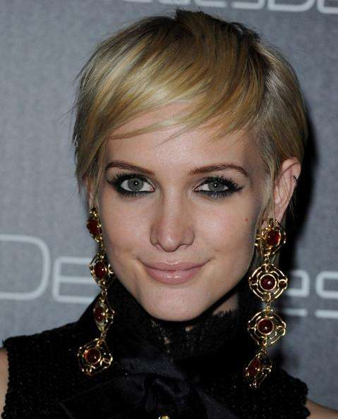 Charming Female Celebrities with Their Short Hairstyles ...