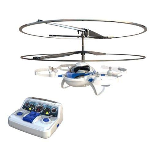 Simple à piloter grâce à sa stabilisation automatique, ce drone promet de belles heures de vol à votre enfant ! En le faisant décoller, tourner et atterrir, il travaille son adresse et développe son imagination. Le double cerclage assure sa sécurité.