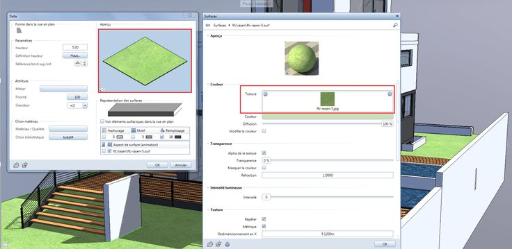 BIMblog_ALLPLAN couleur IFC_Modele ALLPLAN_ParametresCouleur-texture