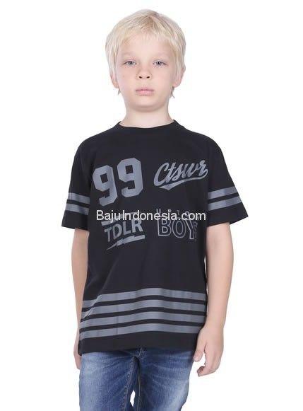 Kaos anak TDL 18-25 combed cotton hitam 10-9. Rp 109.900....