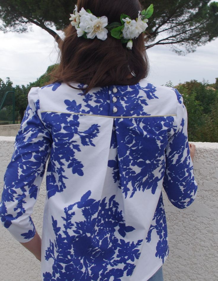 Blouse Violette – Dessine moi un patron