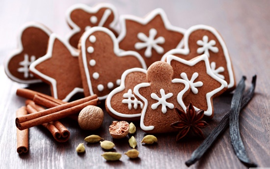 "Scrub και μάσκα προσώπου ""Gingerbread"" για απαλότητα και λάμψη - ""Gingerbread"" Facial Scrub and Mask for softness and shine www.enter2life.gr"