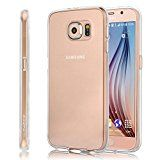 Samsung Galaxy S6 Case Swees New Slim Transparent Silicone Gel TPU Case for Samsung Galaxy S6 2015  Scratch Resistant [CLEAR VIEW CASE]  Crystal Clear Design