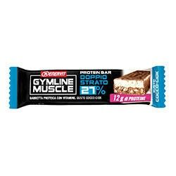 ENERVIT Gymline Muscle Protein Bar doppio strato 27% gusto cocco-ciok - Store For Cycling