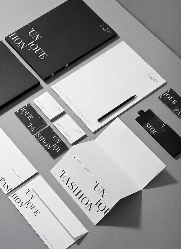 Unique Fashion by artentiko. , via Behance #branding #design #identity