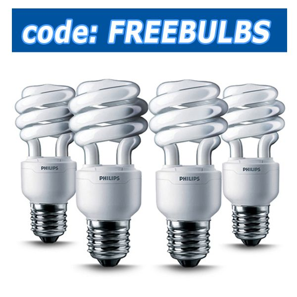 Just a few more hours to get your FREE Light Bulbs! http://www.bulbamerica.com/free-4-pack-bulbs #free #bulbs #gift #lights