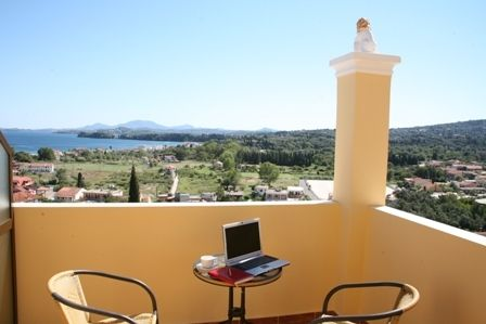 Look the paradise from that balcony #Corfu_boutique_Hotels http://bit.ly/2hO0ASw