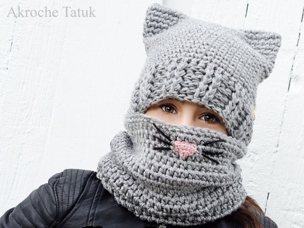 Cat Kit crochet pattern