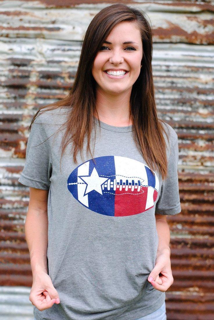 Football In Texas Tee